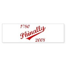Phinally Bumper Bumper Sticker