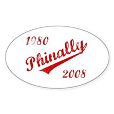 Phinally Oval Decal