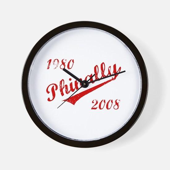 Phinally Wall Clock