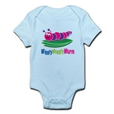 Wiggly Woggly Worm Infant Bodysuit