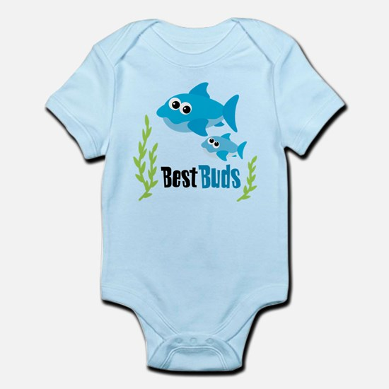Best Buds Sharks Infant Bodysuit