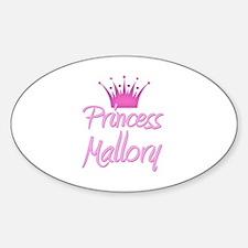 Princess Mallory Oval Decal