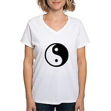 Black and White Yin Yang Bala Shirt