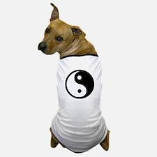 Black and White Yin Yang Bala Dog T-Shirt