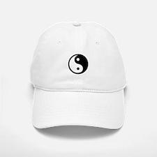 Black and White Yin Yang Bala Baseball Baseball Cap