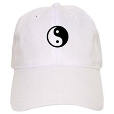 Black and White Yin Yang Bala Baseball Cap