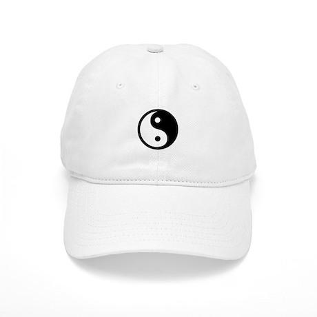 Black and White Yin Yang Bala Cap