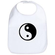 Black and White Yin Yang Bala Bib