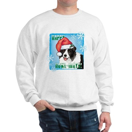 Holiday Border Collie Sweatshirt