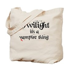 Vampire Thing Tote Bag