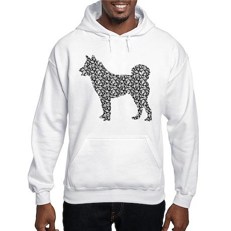 Karelian Bear Dog Hooded Sweatshirt