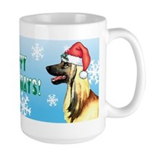 Holiday Afghan Hound Mug