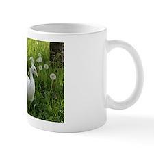White Indian Peafowl Mug