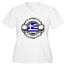 Greece Golf T-Shirt
