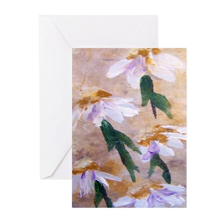Cone Flowers Greeting Cards (Pk of 10)