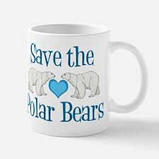 Save the Polar Bears Small Small Mug