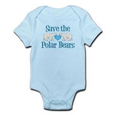 Save the Polar Bears Infant Bodysuit