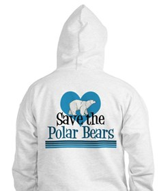 Save the Polar Bears Hoodie