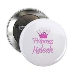 "Princess Maleah 2.25"" Button (10 pack)"