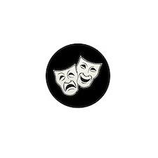 Theatre Masks (v2) Mini Button (100 pack)