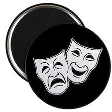 Theatre Masks (v2) Magnet