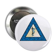 """OES Adah 2.25"""" Button (10 pack)"""
