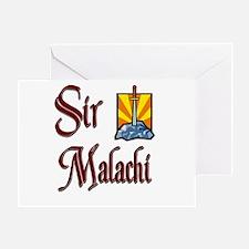 Sir Malachi Greeting Card