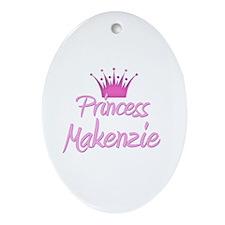 Princess Makenzie Oval Ornament