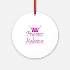 Princess Makena Ornament (Round)