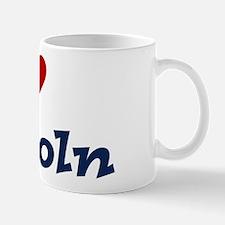 I HEART LINCOLN Mug