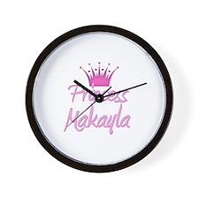 Princess Makayla Wall Clock