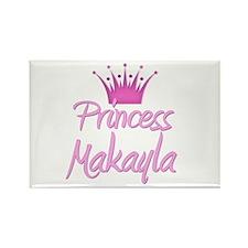 Princess Makayla Rectangle Magnet