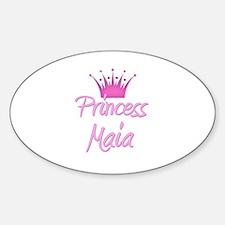 Princess Maia Oval Decal