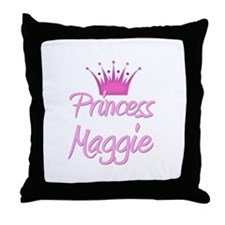 Princess Maggie Throw Pillow