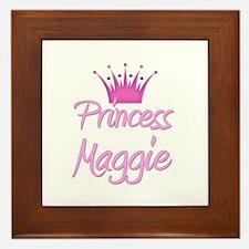 Princess Maggie Framed Tile