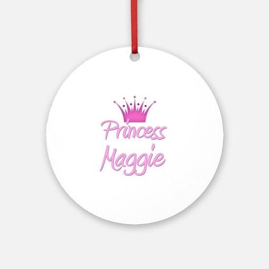 Princess Maggie Ornament (Round)