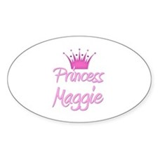 Princess Maggie Oval Decal