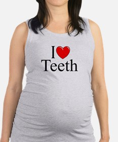"""I Love (Heart) Teeth"" Tank Top"