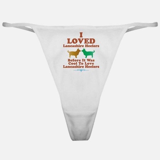 Lancashire Heeler Classic Thong