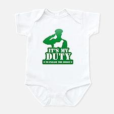 Komondor Infant Bodysuit