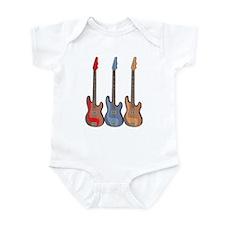 Guitars Infant Bodysuit
