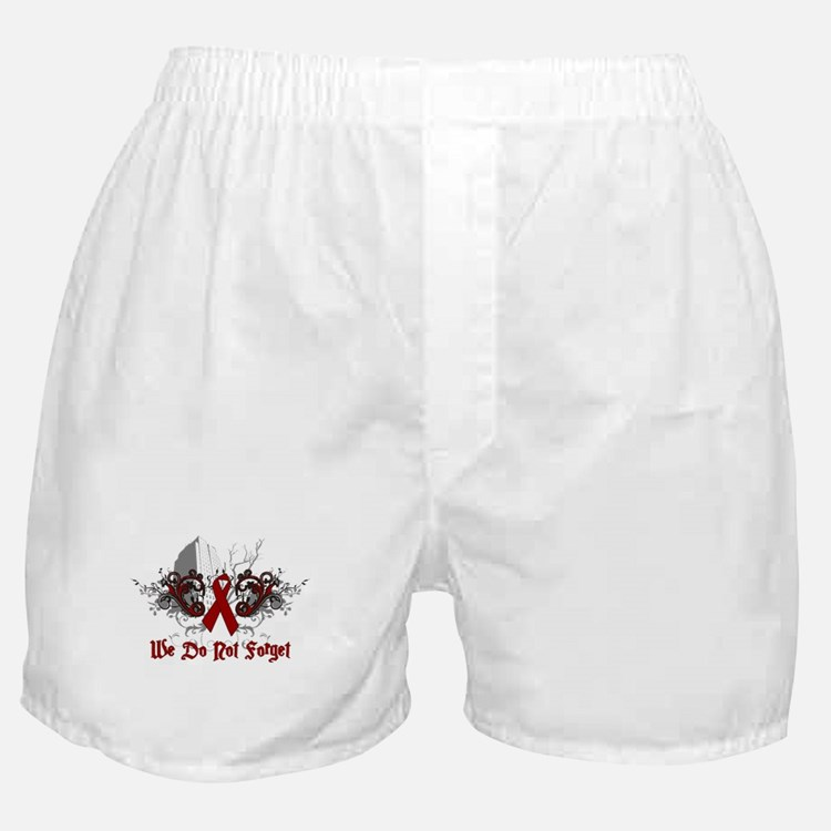 We Do Not Forget-AIDS Boxer Shorts