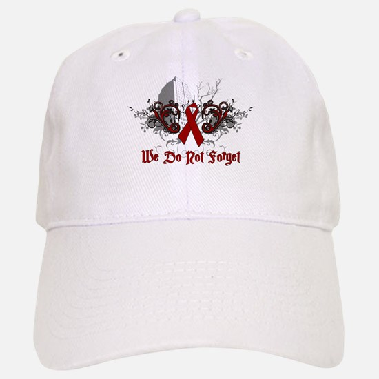 We Do Not Forget-AIDS Baseball Baseball Cap