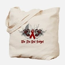 We Do Not Forget-AIDS Tote Bag