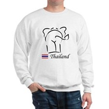 Cute Thai Elephant Thailand Sweatshirt