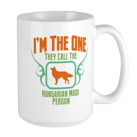 Mudi Large Mug