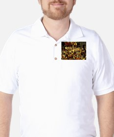 Carnival and Lent Golf Shirt