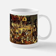 Carnival and Lent Mug