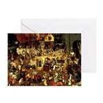 Carnival and Lent Greeting Cards (Pk of 20)
