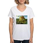 Babel Women's V-Neck T-Shirt